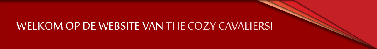 Welkom op de website van The Cozy Cavaliers!